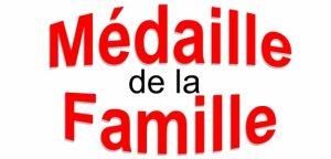 Flash info ! Médaille de la Famille