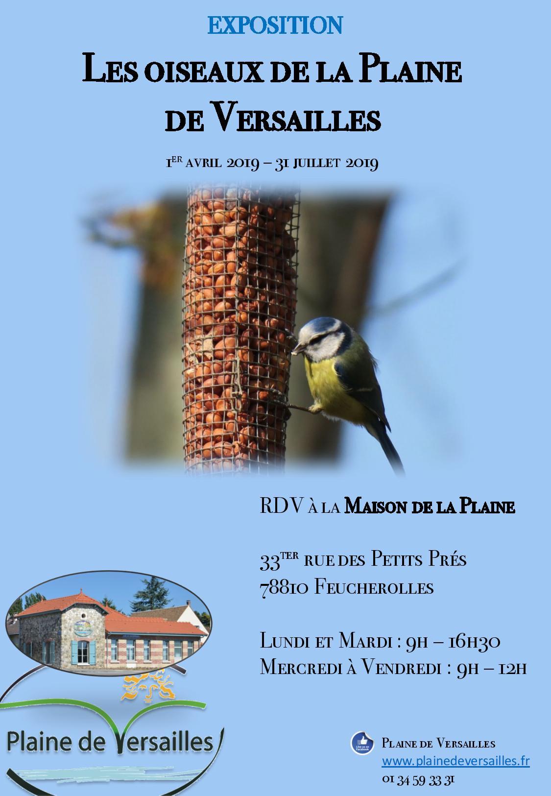 Les oiseaux de la Plaine de Versailles