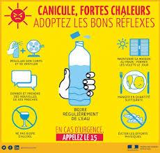 Alerte canicule : Plan départemental canicule niveau 3