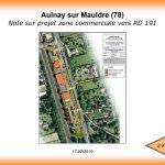 Note sur projet zone commerciale vers RD 191