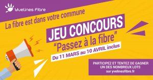Internet très haut débit le 8 et 10 mars 2021