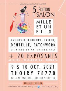 Read more about the article Salon THOIRY – Mille et Un Fils 9 et 10 octobre 2021